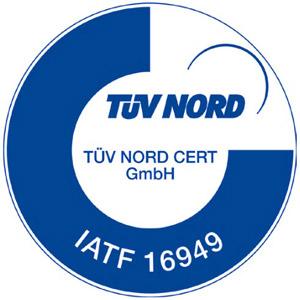 TUV NORD certification IATF 16949